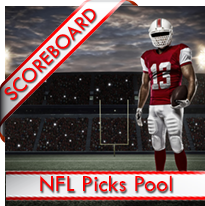 NFL Picks Pool Scoreboard