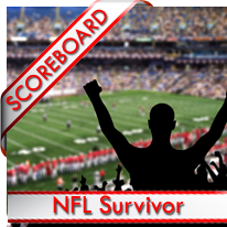 NFL Survivor League Scoreboard